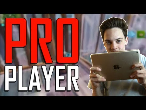 Pro Fortnite Mobile Player Road To 100 Wins Ipad 2017 Gameplay
