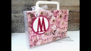 Easy Gift Case in Petal Promenade DSP from Stampin' Up!