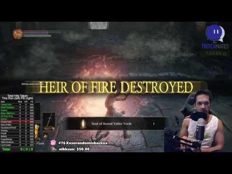 World First - 0 Hit/Death Run - Dark Souls 3
