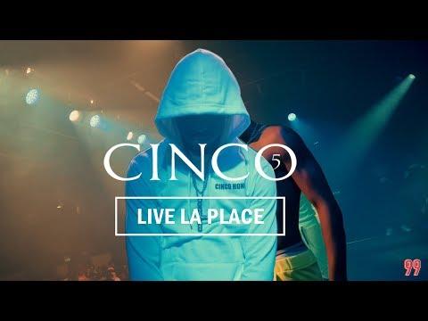 Youtube: CINCO – Live à La Place