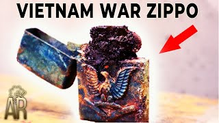 Download Zippo lighter restoration - Vietnam War repair Mp3 and Videos