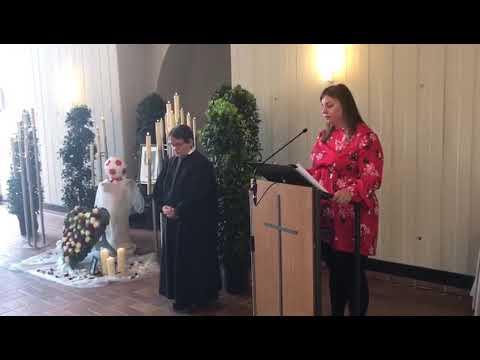 Tochter singt auf der Beerdigung ihres Vaters # Amoi seg ma uns wieder ❤