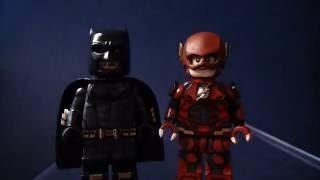 Custom Lego Suicide Squad/ Justice League 2017 Ezra Miller Flash Minifigure