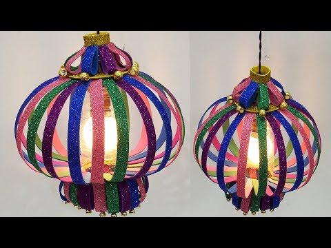 Easy Diwali / Christmas Paper Lantern - How to Make DIY Diwali Kandil | StylEnrich