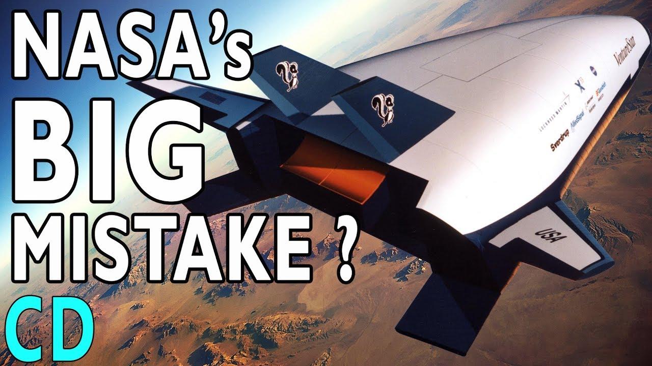 nasa s big mistake the x 33 venturestar replacement shuttle youtube