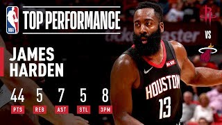 JAMES HARDEN GOES OFF IN PRESEASON FINALE | 2019 NBA Preseason