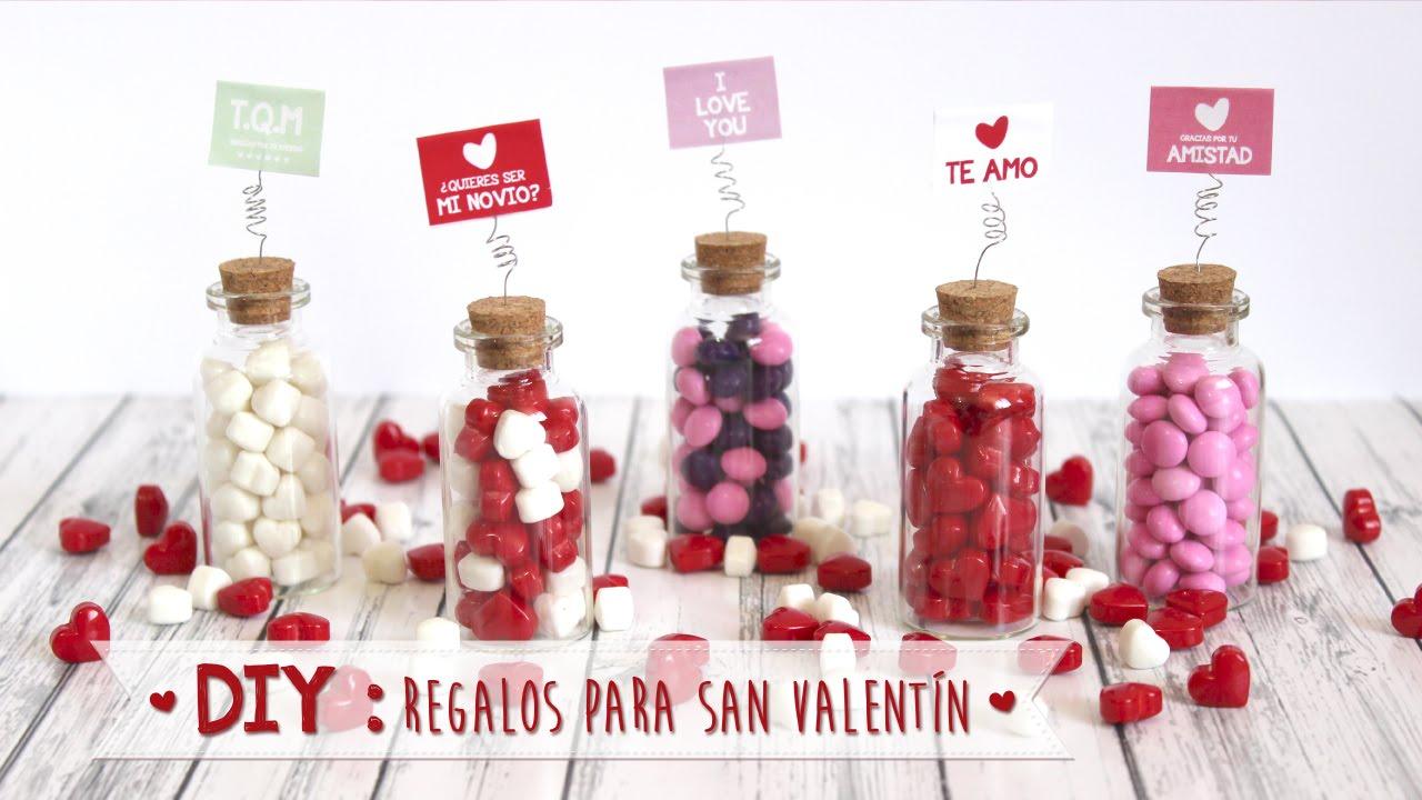 Diy botellitas con mensaje regalos para san valent n - Regalos de san valentin para el ...