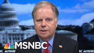 Sen. Jones: GOP Should Have Been Wearing Masks A Month Ago | Morning Joe | MSNBC