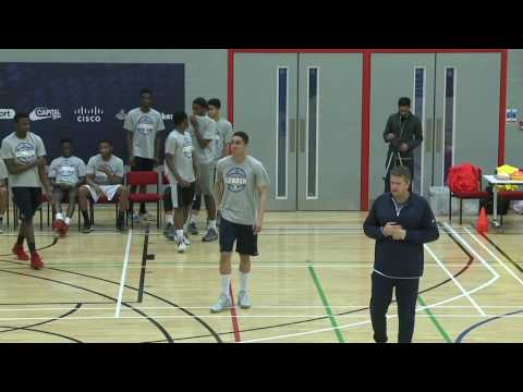 Denver Nuggets NBA Clinic 2017 with Chris Finch