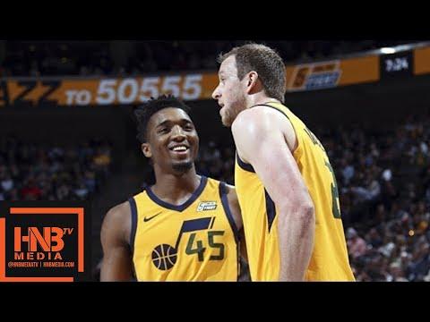 Utah Jazz vs Detroit Pistons Full Game Highlights / March 13 / 2017-18 NBA Season