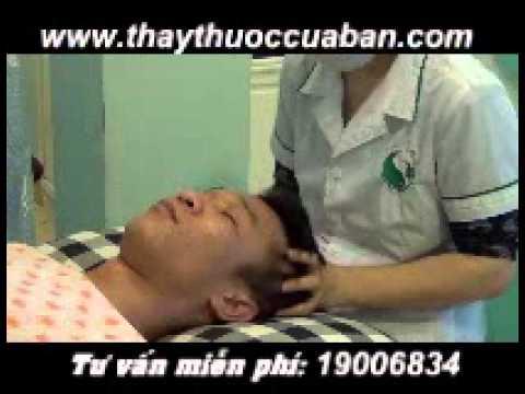 Bấm huyệt chữa đau đầu, nhức đầu, bam huyet chua dau dau, nhuc dau