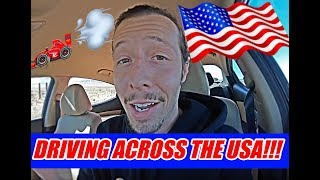 DRIVING ACROSS THE USA!!! (3 DAYS!) | VLOG #50