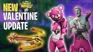 New VALENTINES SKINS In Fortnite Battle Royale! V-BUCK Giveaway!! | Fortnite Battle Royale
