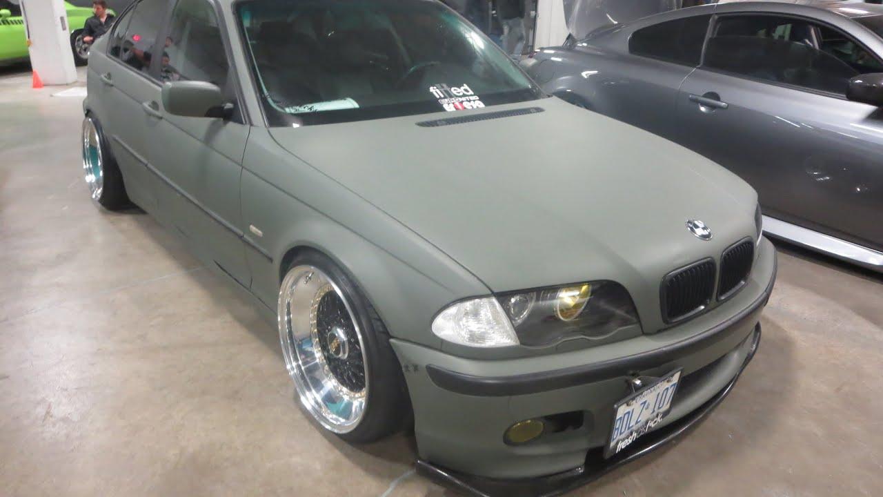BMW I Custom At MegaSpeed Car Show YouTube - Bmw 325i 2014