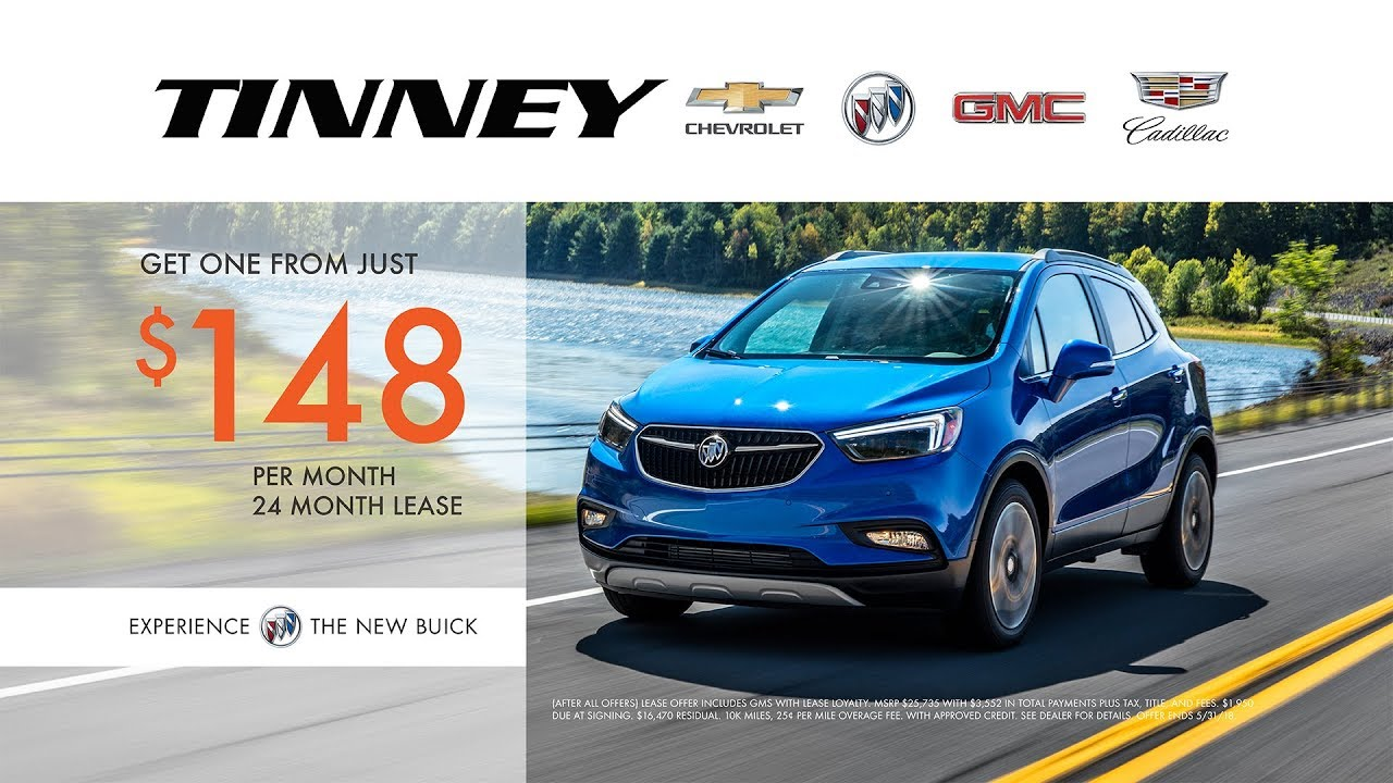 2018 buick encore memorial day sale and lease specials at tinney automotive youtube. Black Bedroom Furniture Sets. Home Design Ideas