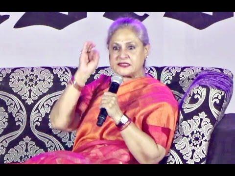 Jaya Bachchan ANGRY On Students At Umang NM College 2016