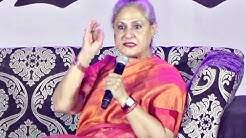 Jaya Bachchan ANGRY On Students At Umang NM College 2016