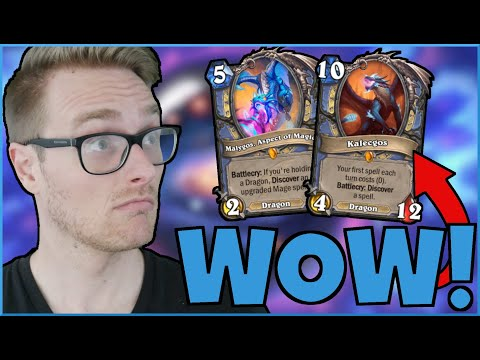 HEARTHSTONE is PAY to WIN (35 LEGENDARY Reno Quest Mage)   Ashes of Outland   Wild Hearthstone