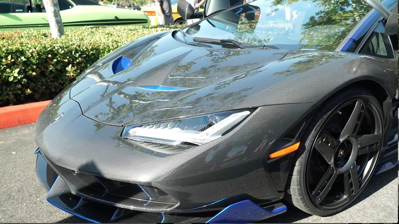 The Rarest Lamborghini In The Usa Crashes The Show Youtube