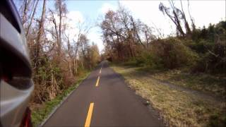 Spring ride - W&OD Rail Trail - Paeonian Springs to Purcellville, VA - by Bike Friday