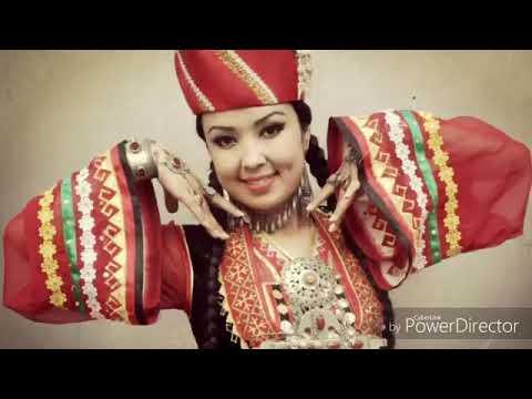 Каракалпакские национальная одежда и песня