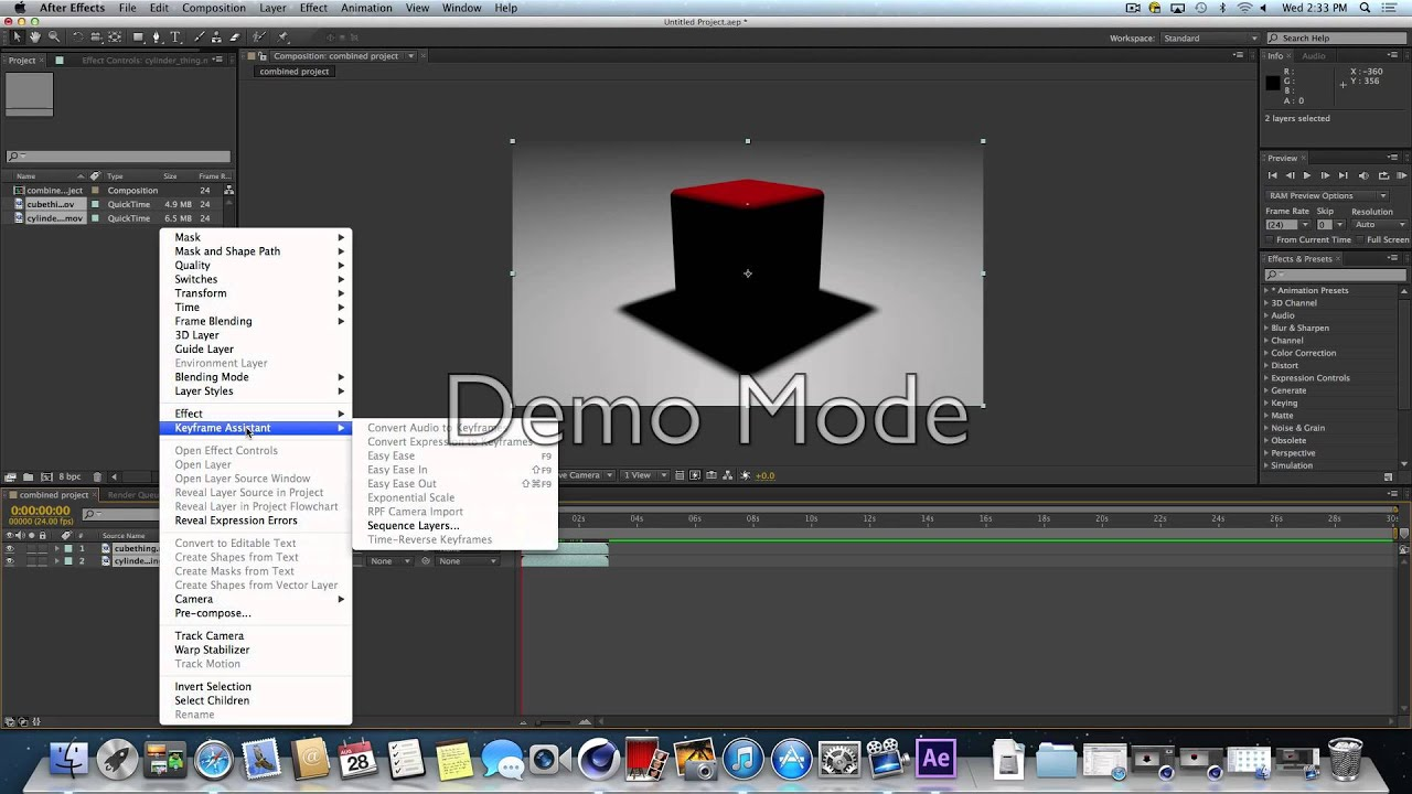 Movies In After Effects