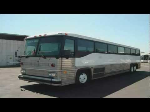AUDIO RECORDING OF GREYHOUND's 1993 MCI MC-12 BUS #2107 (RETIRED).