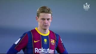 Real Sociedad Vs Barcelona Full Match Replay - Siêu Cup TBN - Hiệp 1