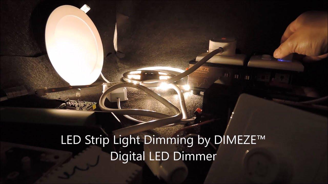 Triac Dimmer Vs Digital Led Youtube Based Lamp