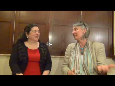 Louise Penny's Night with the Monks, Author interview for The Beautiful Mystery