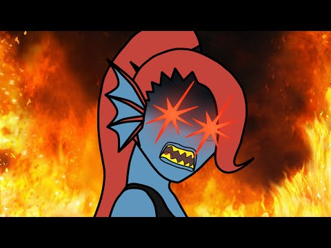 DAT UNDERTALE ANIMATION: Undyne's First Day (Short#1)