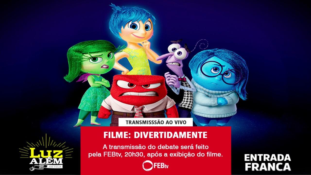 Luz Alem Da Tela Filme Divertidamente Youtube
