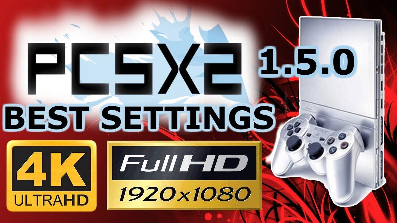 PCSX2 1 5 0 BEST 2018 GRAPHIC / CPU SETTINGS 1080p & 4K + 60 FPS [ GTX 970  + x5650] PS2 EMULATOR