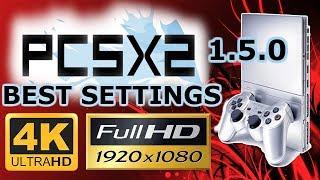 PCSX2 1.5.0 BEST 2018 GRAPHIC / CPU SETTINGS 1080p & 4K + 60 FPS [ GTX 970 + x5650] PS2 EMULATOR