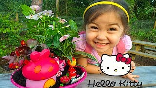 Cutest Hello Kitty Garden Surprise Toys Mlp Iron Man Disney Princess Fashems - Arbor Earth Day
