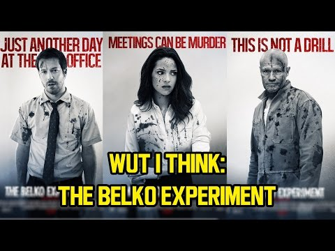 Wut I Think: THE BELKO EXPERIMENT Review + Spoilers