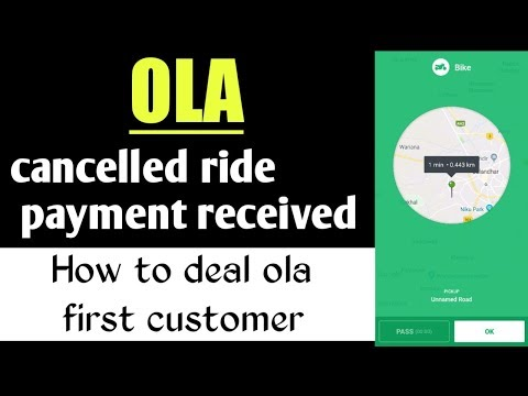 Ola Booking Cancelled Payment Received | How To Deal Ola First Customer | Ola Partner Uses In Hindi