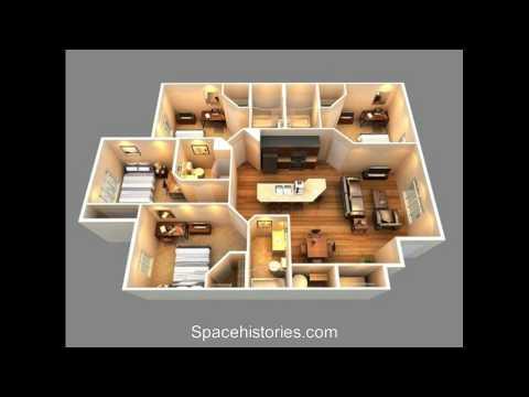 Sketch of Home 4 Bedrooms