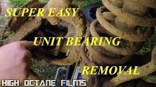 SUPER EASY JEEP UNIT BEARING REMOVAL
