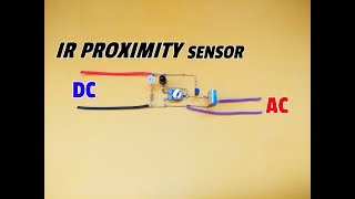 How To Make An Infrared Proximity Sensor Circuit Without Using IC Using Only Transistor..