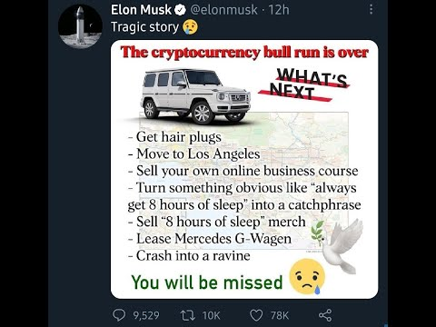 Bitcoin Crash 2021 and how Elon Musk will change the financial institution once it is completed!