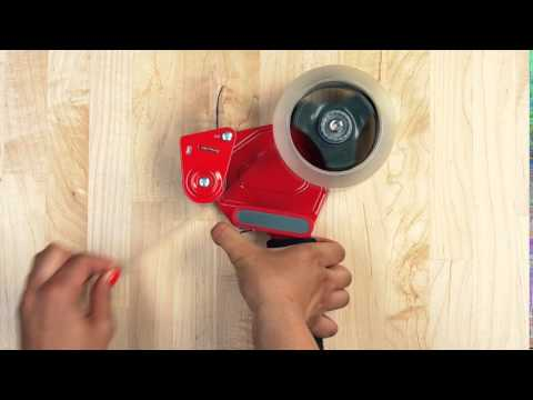 How-to Load a Heavy Duty Packaging Dispenser