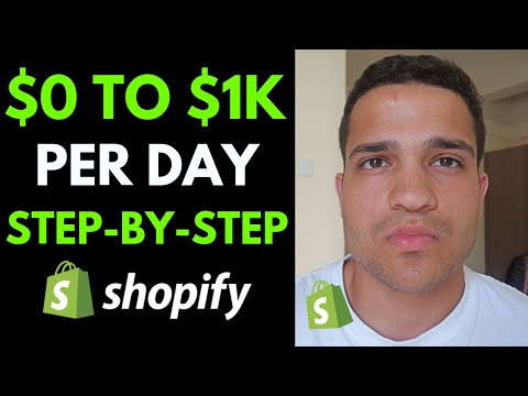 $0 to $1K A Day Dropshipping Step by Step Tutorial | Shopify Dropshipping Student Case Study thumbnail