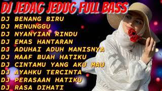 DJ TIKTOK TERBARU 2021💜 DJ BENANG BIRU || DJ MENUNGGU || DJ NYANYIAN RINDU