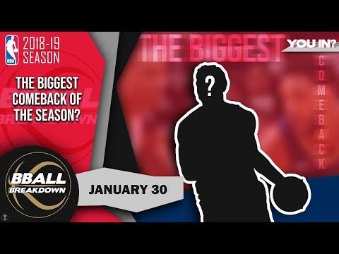 The Most Shocking Comeback This NBA Season