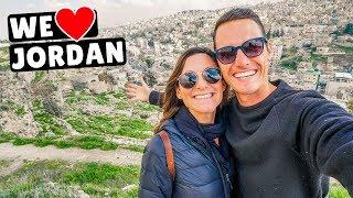 JORDAN Travel Vlog   Jesus Was Baptized HERE (Jerash & Mt. Nebo)