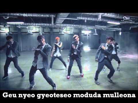 EXO Growl (karaoke)