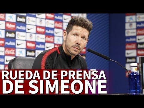 Rueda de prensa de Diego Pablo Simeone | Diario AS
