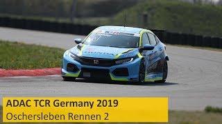 ADAC TCR Germany Rennen 2 Oschersleben 2019 Deutsch Live