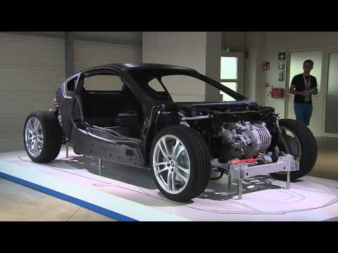 BMW i8 Carbon-Fiber Construction